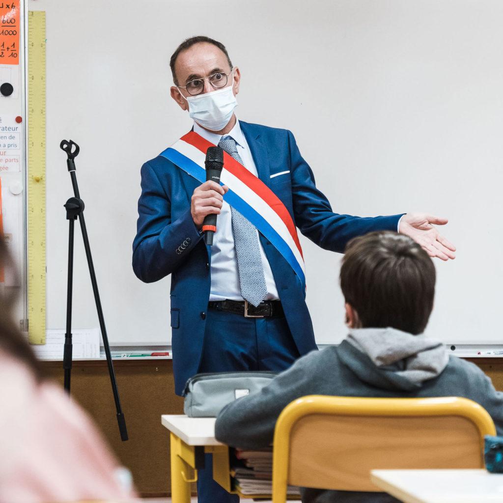 Visite école primaire Montgolfier