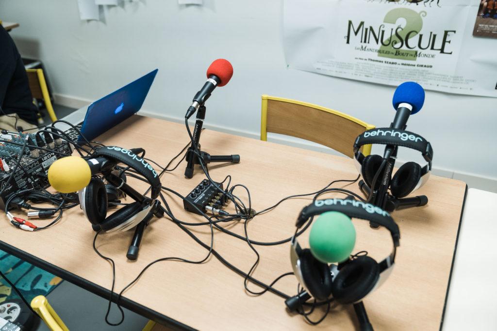 Studio radiophonique
