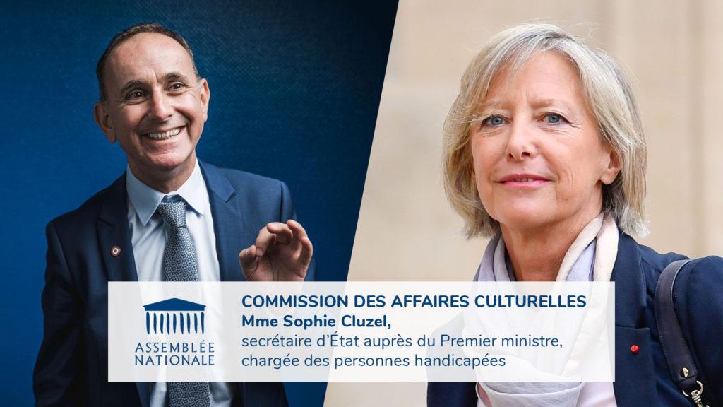VIDÉO / Commission des affaires culturelles : handicap