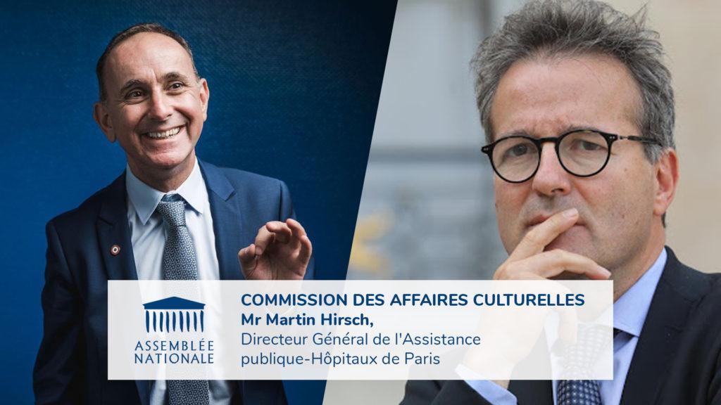 """VIDÉO / Commission des affaires culturelles : """"Diversité sociale et territoriale dans l'enseignement supérieur"""""""