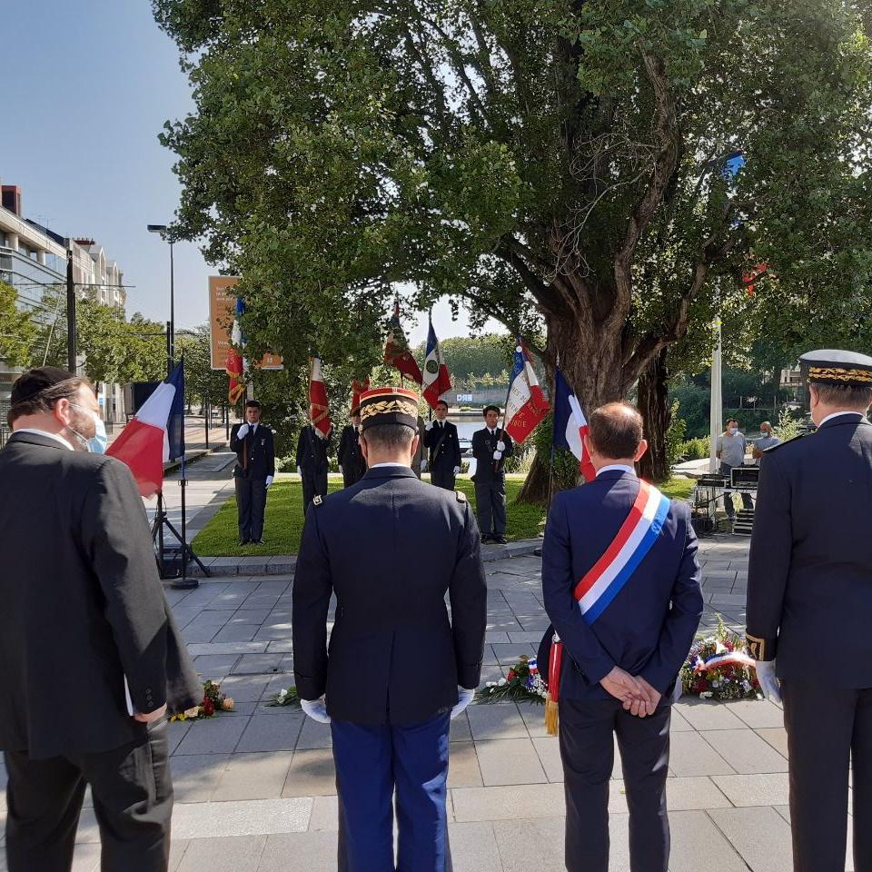"""Cérémonie organisée à la mémoire des """"Justes"""" de France"""